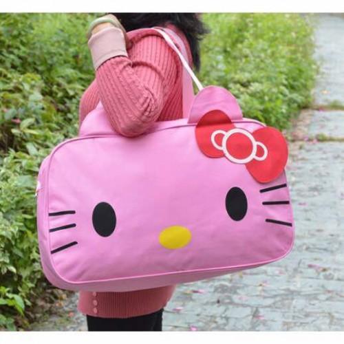 836a1a83be1e Abby Shi 4683 Women Travel Duffel Bag HK Cartoon Handbags Weekend Travel  Tote Luggage Bags Bolsa