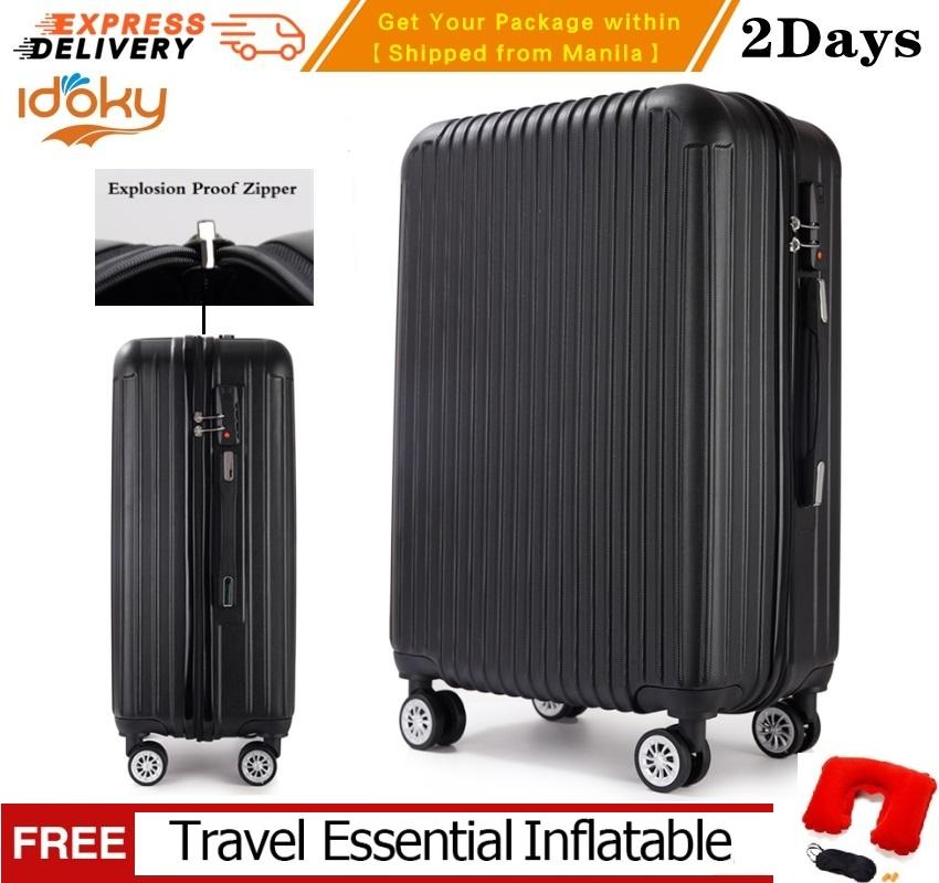 d923e2207c Idoky PH502 Popular 24 Inch Suitcase With Explosion Proof Zipper Hard Case  Luggage