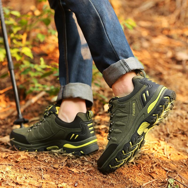 2017 Women s Skid Resistance Hiking Shoes Waterproof Mountain Boots  Climbing Shoes 545ac3a508