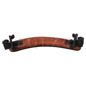 3/4 4/4 Wood Arcuated Violin Shoulder Rest Adjustable Wooden Color- Intl