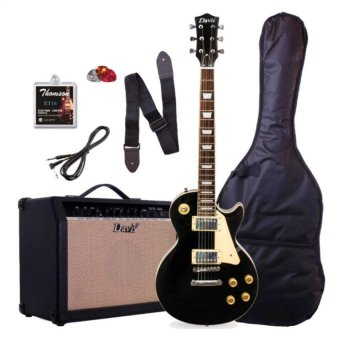 49 Off Davis Les Paul Set Neck With 15 Watts Amp Package Electric