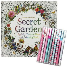 Secret Garden An Inky Treasure Hunt And Coloring Book By Johanna BasfordPHP599 PHP 699
