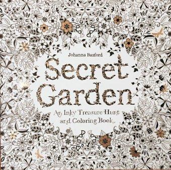 Secret Garden An Inky Treasure Hunt Coloring
