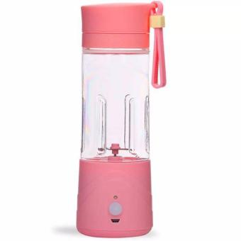 ABS-110 Portable and USB Rechargeable Battery Juice Blender 380ml (Pink)