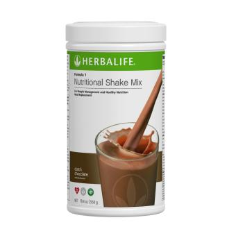 Herbalife Nutritional Shake Mix Dutch Choco Canister 550g