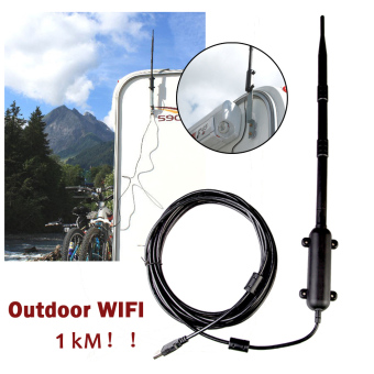 1000M Outdoor High Power Wireless 802.11b/g/n USB 2.0 Adapter Wifi Rocket - intl