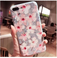 3D Embossed Silicone TPU back cover case for Apple iPhone 7 Plus - intlPHP429. PHP