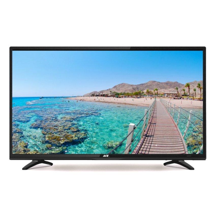 "Avision 32"" HD Ready LED TV Black 32K785 with Free Wall"