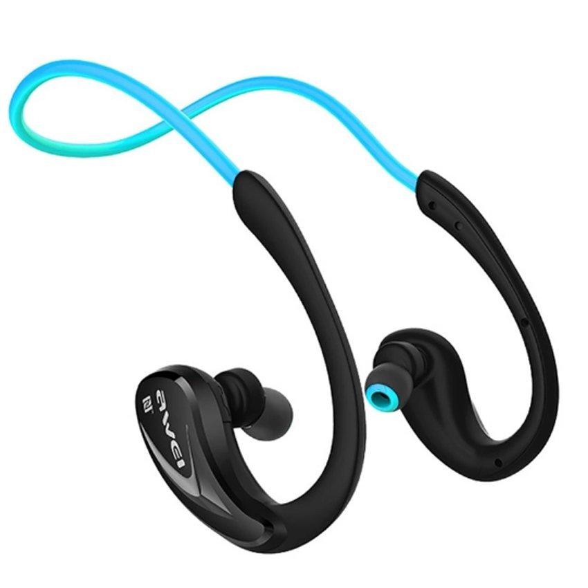 awei a960bl bluetooth headset blue lazada ph. Black Bedroom Furniture Sets. Home Design Ideas