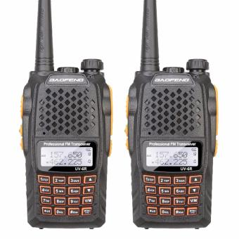 Baofeng UV-6R Walkie Talkie Professional Dual Frequency 128CH LCDDisplay Wireless Baofeng UV6R Portable Two Way Radio (SET OF 2)