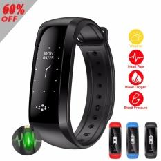 PHP 1.704. Big Screen M2 M2S Smart Wristband Bracelet Fitness Tracker Blood Pressure Oximeter Pedometer ...