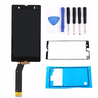 Bluesky LCD Display Touch Screen Digitizer + Adhesive+Tools For Sony Xperia Z L36h L36i C6601 C6602 C6603 C6606 C660x - Intl