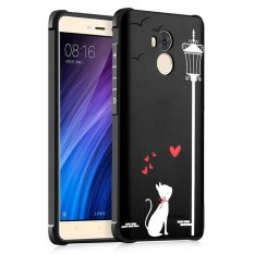 ... BYT Silicon Debossed Printing Cover Case for Xiaomi Redmi 4 Prime intl