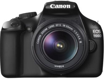 Canon EOS 1100D EF-M 18-55mm f/3.5-5.6 IS 12 MP DSLR(Black)