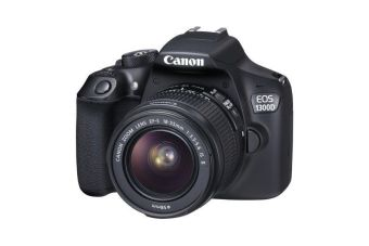 Canon EOS 1300D with EF-S 18-55mm f/3.5-5.6 IS II Lens Kit Set