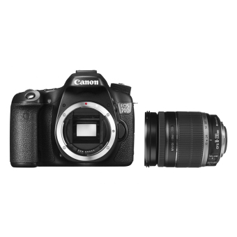 Canon EOS 70D body(Black) with EF-S 18-200mm IS Lens Kit