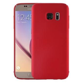 Case for Samsung Galaxy S6 Edge Plus Ultra-thin Hard PC Full BodySmooth Grip Back Cover (Red) - intl