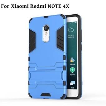 Case for Xiaomi Redmi Note 4X Armour Hard Plastic + Soft Silicone/TPU Phone Case