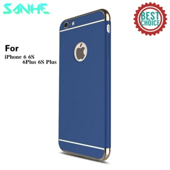 For Apple iphone 6 plus/6S plus 3 In 1 Hard PC + Acrylic Luxury Anti-knock Armor Ultra Slim Metal Hard Back Case Cover 5.5inch - intl
