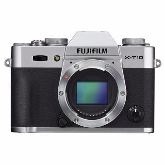 Fujifilm X-T10 Mirrorless Digital Camera (Body Only) (Silver)