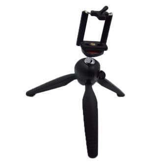 GS YT-228 Mini Tripod for Mobile Phones and Sports Cameras (Black)