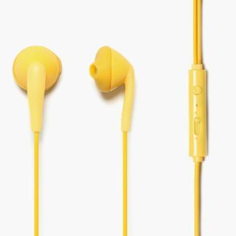Hoco Universal Wire Control Earphones (Yellow)