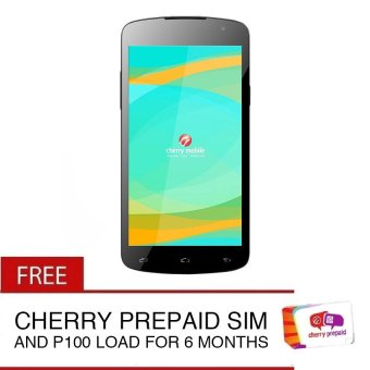 Cherry Mobile Infinix Pure XL 8GB (Black) with FreeCherryPrepaidSimCard and P100 Load for 6 Months