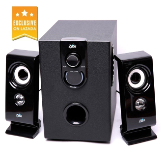 d2373bbb60f PHP 15,899. BUY NOW. Zeus Z-350 2.1 Multimedia Bluetooth/Wired 2in1 Speaker  with SD/USB (Black)