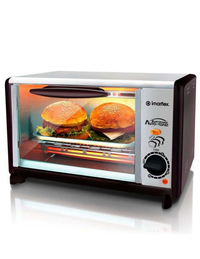 Countertop Oven Philippines : Specifications of Imarflex Oven Toaster Convection IT-180CS (Black ...