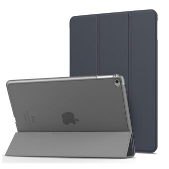 iPad Air 2 Case - Ultra Slim Lightweight Smart-shell Stand Cover with Translucent Frosted Back Protector for Apple iPad Air 2 9.7 Inch Tablet, Space GRAY (with Auto Wake/ Sleep, Not fit iPad Air) - intl
