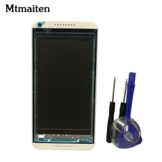 PHP 485. Mtmaiten Front Face Bezel Frame LCD holder Plate Chassis Part For HTC Desire 816 Faceplate Front Housing ...