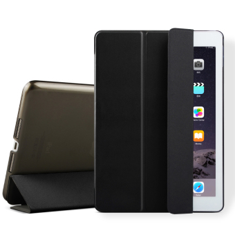 Mypro Young Series Ultra Slim Smart Cover with Auto Sleep/WakeFunction for Apple iPad Air/iPad 5 (Black)