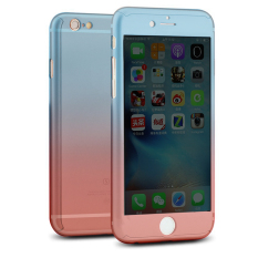 ROYBENS Hybrid 360° Shockproof Mirror Case Tempered Glass Cover For Applefor Iphone 6/6s. Source · PHP 388 niceEshop Gradient Colorful Shell Slim Hard Case ...