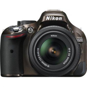Nikon D5200 18-55mm VR Kit Bronze