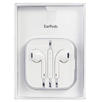 Original Apple Earpods With Volume Controller And Mic (White)