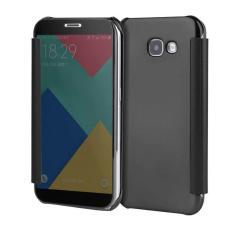 Plating PC Mirror Flip Case Cover with Dormance For Samsung .