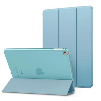 Realwe Case for iPad Pro 9.7 - Ultra Slim Lightweight Smart-shell Stand Cover with Translucent Frosted Back Protector for Apple iPad Pro 9.7 Inch 2016 Release Tablet - intl