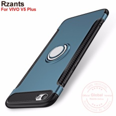 ... Dual Layer TPU +PC Shockproof Card Slot Brushed Armor Protective Cover Dark bluePHP489. PHP 507
