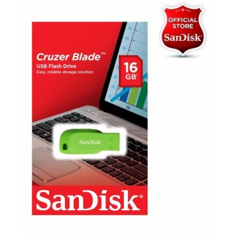 Sandisk 16GB Cruzer Blade USB 2.0 Flash Drive GREEN