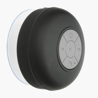 SM Accessories Waterproof Bluetooth Shower Speaker (Black)