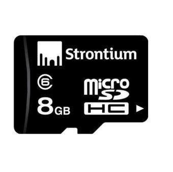 Strontium 8GB Class 6 MicroSD Memory Card
