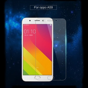 Tempered Glass Full Screen Protector HD For Oppo F3 (Clear)