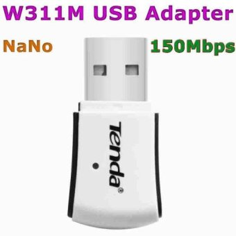 Tenda W311M USB Network Adapter 150Mbps Wireless Adapter Mini WIFI Receiver 802.11n 2.4GHz Ethernet Card
