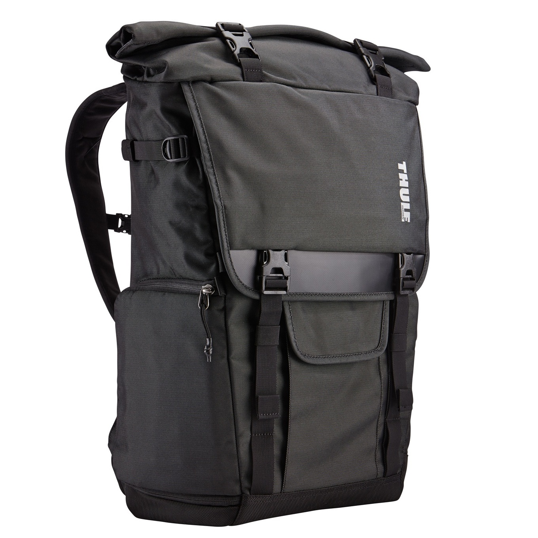 Black gloves sulit - Thule Tcdk 101 Covert Dslr Rolltop Camera Bag Black
