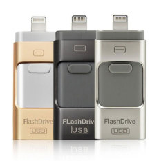 PHP 1 268 U Disk Metal Pendrive otg USB Flash Drive for IPhone .