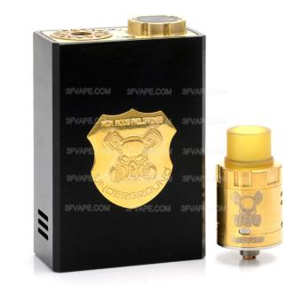 Underground Mechanical Box Mod + RDA Kit ecig vape mod