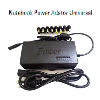Universal 120W Power Adapter Charger 4.5A 12-24V Adjustable Voltage for Laptop Notebook (Black)