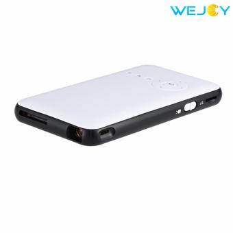 Wejoy Smart DLP Mini Projector with Keystone Function with WIFI 8GB