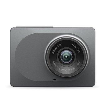 Xiaomi Yi Smart Dash Camera English Version Dashboard Car DVR Night Vision 1080P HD (Gray)