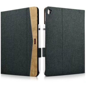 Xoomz New Tablet Cover for Apple iPad Pro 9.7 inch Case LuxuryBrand Cloth Leather with Smart Case for iPad Pro 9.7 2016 Released- intl